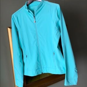 Lululemon light blue jacket size 10